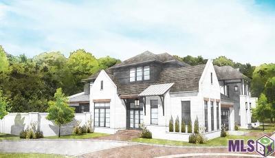 Baton Rouge Single Family Home For Sale: Lot 1 Tilton Ct