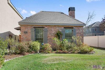 Baton Rouge Condo/Townhouse For Sale: 7962 Wrenwood Blvd #A