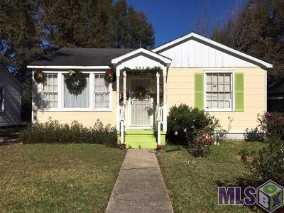 Baton Rouge LA Single Family Home For Sale: $49,000