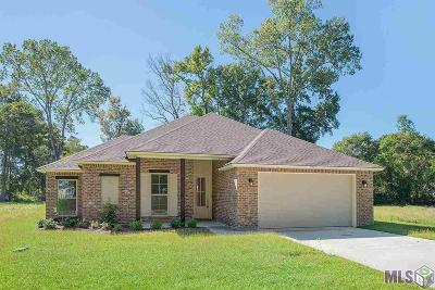 Denham Springs Single Family Home For Sale: 7714 Bend Road Ext