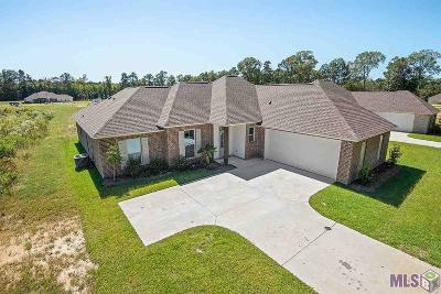 Denham Springs Single Family Home For Sale: 7816 Bend Road Ext