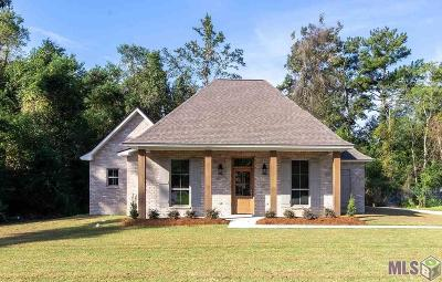 Prairieville Single Family Home For Sale: 18021 Diaz Rd
