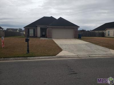 Gonzales Single Family Home For Sale: 14410 Caribbean Dr