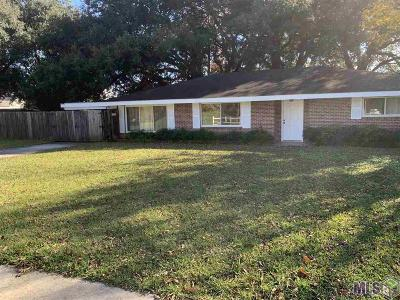 Donaldsonville Single Family Home For Sale: 213 Lafourche St