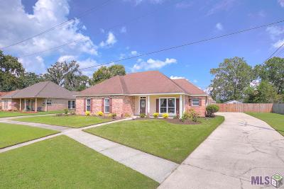 Prairieville Single Family Home For Sale: 40318 Bordeaux St
