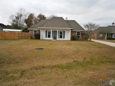 Denham Springs Single Family Home For Sale: 32467 Brandywood Dr