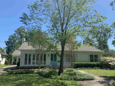 Baton Rouge Single Family Home For Sale: 1835 Ingleside Dr