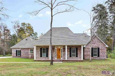 Denham Springs Single Family Home For Sale: 9090 Ridgeway Ave