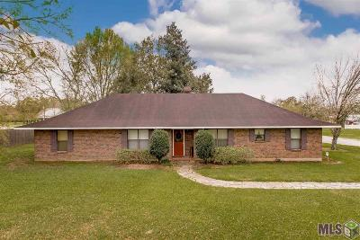 Gonzales Single Family Home For Sale: 39155 Babin Rd