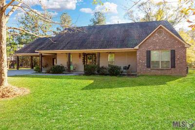 Denham Springs Single Family Home For Sale: 38936 Reinninger Rd
