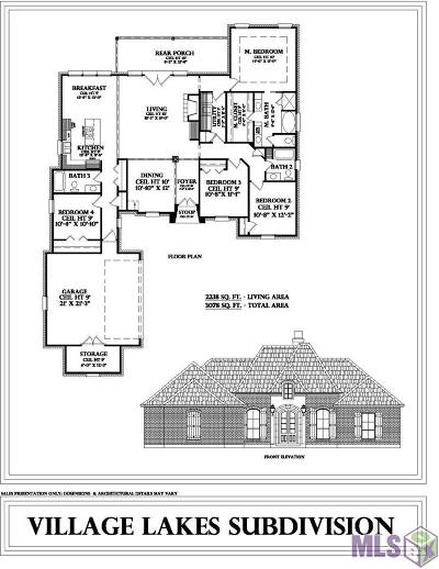 Greenwell Springs Single Family Home For Sale: Tbd Villa Crossing Dr