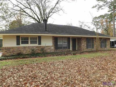 Greenwell Springs Single Family Home For Sale: 5219 Goodland Dr
