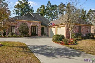 Denham Springs Single Family Home For Sale: 25785 Royal Birkdale