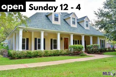 Baton Rouge Single Family Home For Sale: 12744 Sullivan Rd