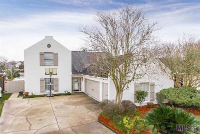 Baton Rouge Single Family Home For Sale: 17545 Lake Iris Ave