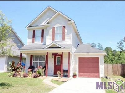 Denham Springs Single Family Home For Sale: 26372 Millstone Dr