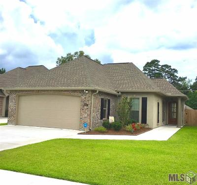 Denham Springs Single Family Home For Sale: 9420 Wyndham Way