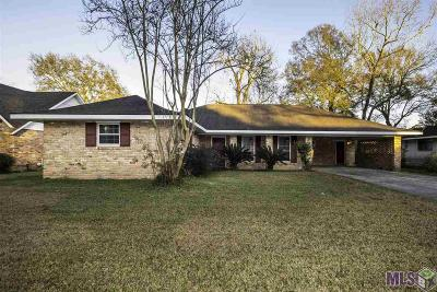 Baton Rouge Single Family Home For Sale: 1747 Madras Dr