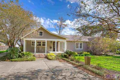 Baton Rouge Single Family Home For Sale: 1915 Ingleside Dr