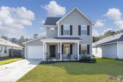 Denham Springs Single Family Home For Sale: 26381 Bobby Gill Rd