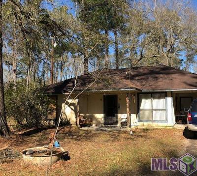 Denham Springs Single Family Home For Sale: 30660 Old River Rd