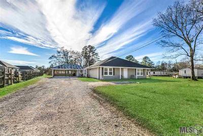 Denham Springs Single Family Home For Sale: 10756 Arnold Rd