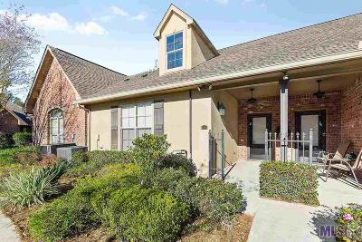 Prairieville Condo/Townhouse For Sale: 18639 Perkins Rd #19