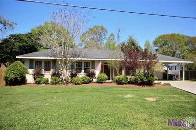 Denham Springs Single Family Home For Sale: 7371 Amite Church Rd