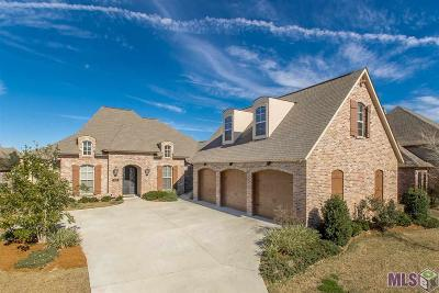 Zachary Single Family Home For Sale: 1623 Gleneagles Bend