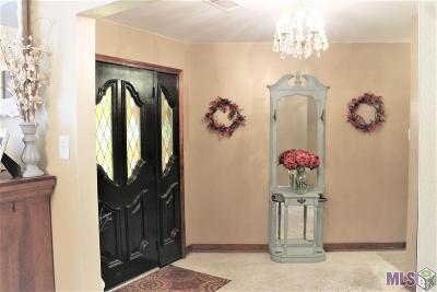 Denham Springs Single Family Home For Sale: 14249 Brown Rd