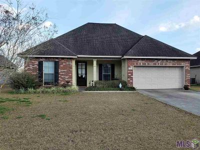 Denham Springs Single Family Home For Sale: 28478 Grand Turk Dr