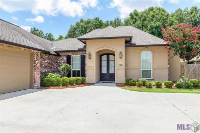 Geismar Single Family Home For Sale: 12353 Legacy Hills Dr