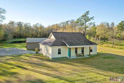 Denham Springs Single Family Home For Sale: 35609 Perkins Rd