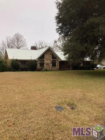 Denham Springs Single Family Home For Sale: 7814 Amite Church Rd