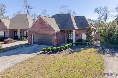 Baton Rouge Single Family Home For Sale: 9544 Country Lake Dr