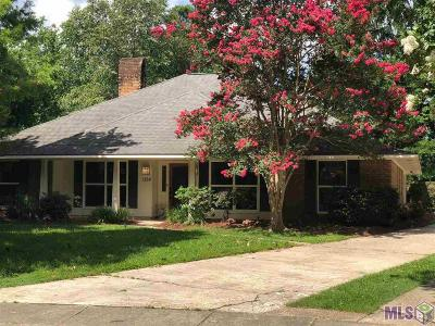 Baton Rouge Single Family Home For Sale: 1354 Woodcliff Dr