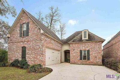 Baton Rouge Single Family Home For Sale: 14868 Kingsland Way