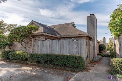Baton Rouge Condo/Townhouse For Sale: 5152 Blair Ln #C