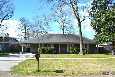 Baton Rouge LA Single Family Home For Sale: $198,000