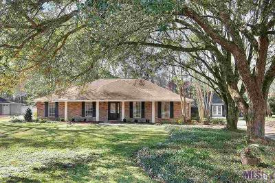 Denham Springs Single Family Home For Sale: 25791 Plantation Ave