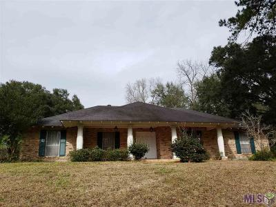 Baton Rouge Single Family Home For Sale: 14247 Highland Rd