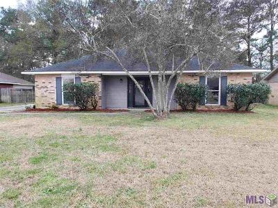 Denham Springs Single Family Home For Sale: 25827 Shadow Brook Ave