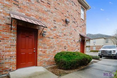 Baton Rouge Condo/Townhouse For Sale: 900 Dean Lee Dr #1303