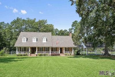 Zachary Single Family Home For Sale: 20221# Chaney Rd