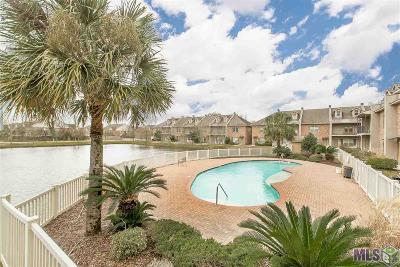 Baton Rouge Condo/Townhouse For Sale: 4637 Burbank Dr #402
