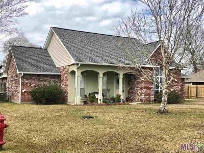 Denham Springs Single Family Home For Sale: 32722 Faulkner Dr