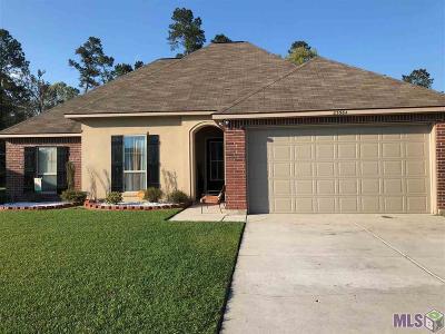 Denham Springs Single Family Home For Sale: 23384 Conifer Dr