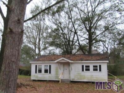 Denham Springs Single Family Home For Auction: 8720 Lockhart Rd