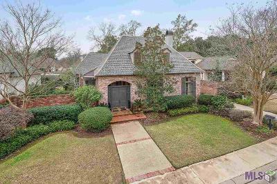 Baton Rouge Single Family Home For Sale: 1530 Lasalle Parc