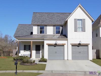 Baton Rouge Single Family Home Contingent: 18131 Vis-A-Vis Ave